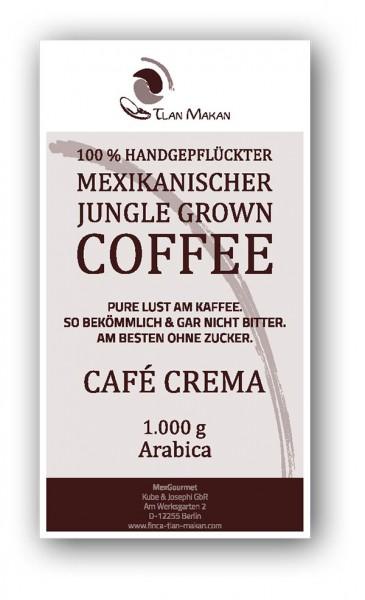 CAFÉ Crema - Finca Tlan Makan